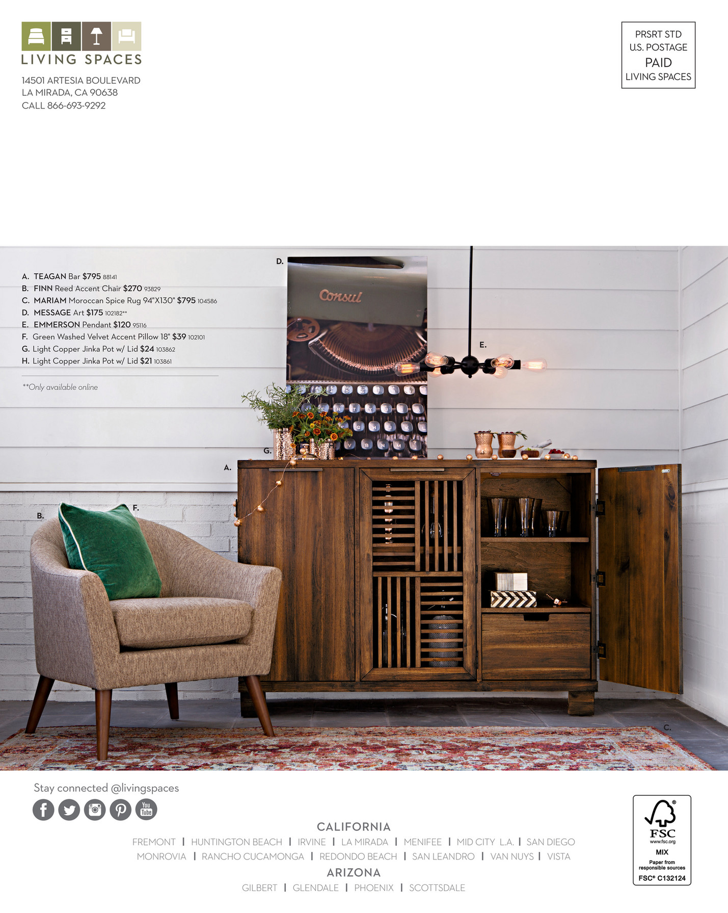 Living Spaces   Product Catalog   Holiday 2016   Page 60