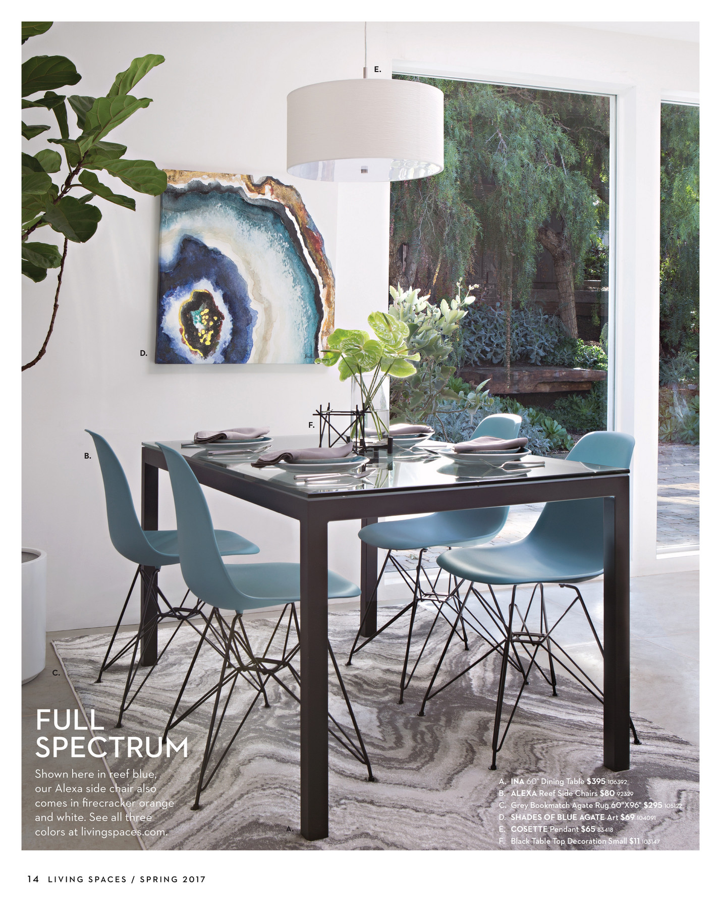 Living Spaces - Product Catalog - Spring 2017 - Page 14-15