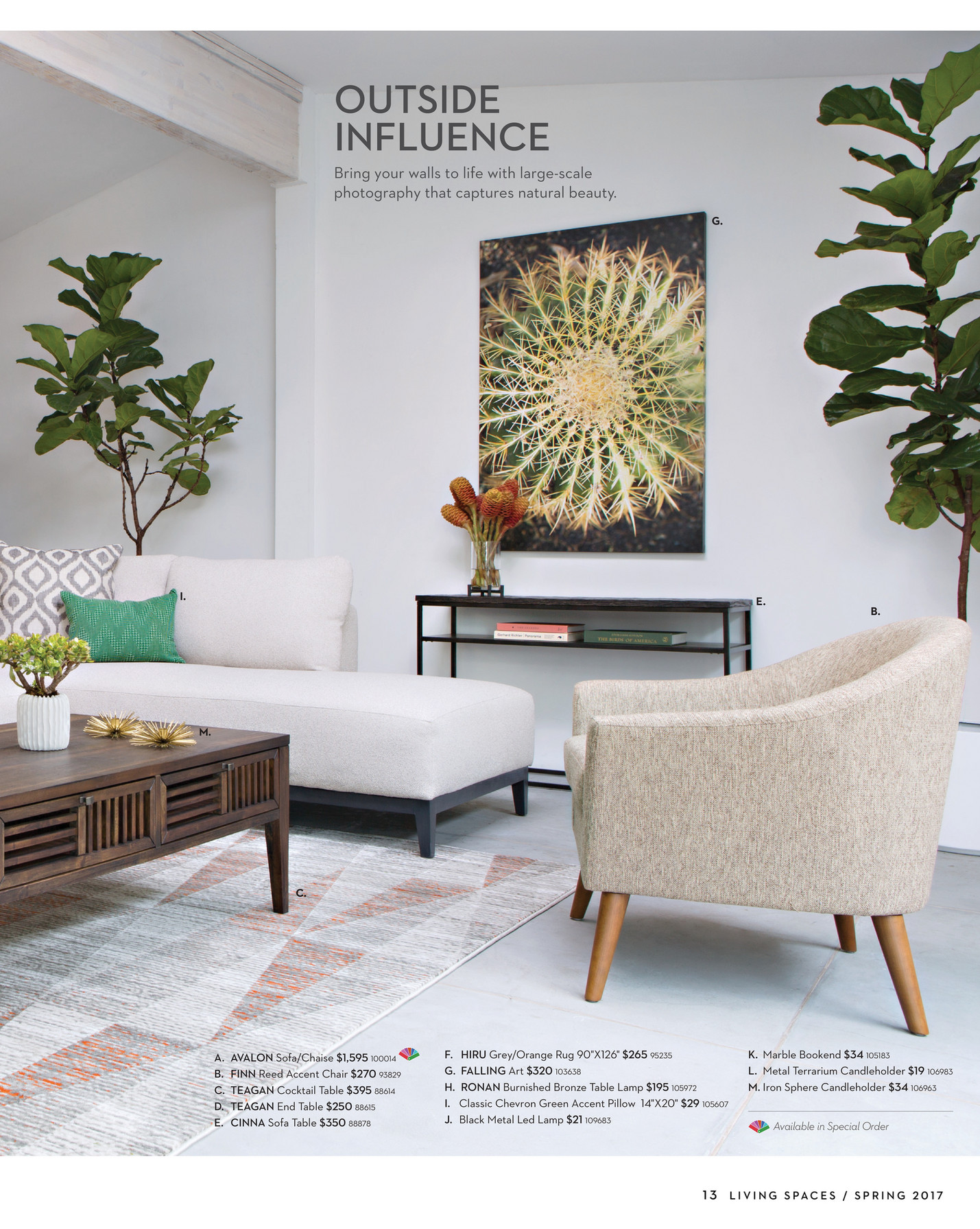 Enjoyable Living Spaces Product Catalog Spring 2017 Finn Reed Unemploymentrelief Wooden Chair Designs For Living Room Unemploymentrelieforg