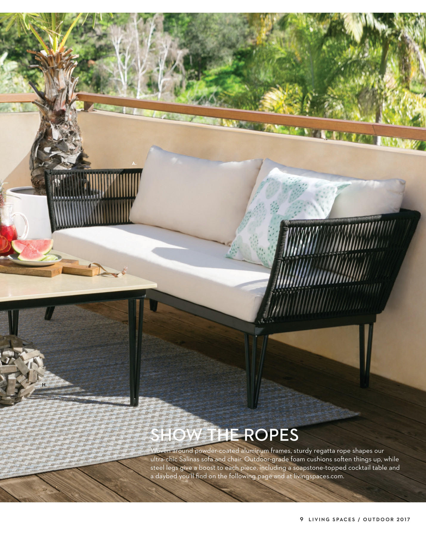 - Living Spaces - Product Catalog - Outdoor 2017 - Page 8-9