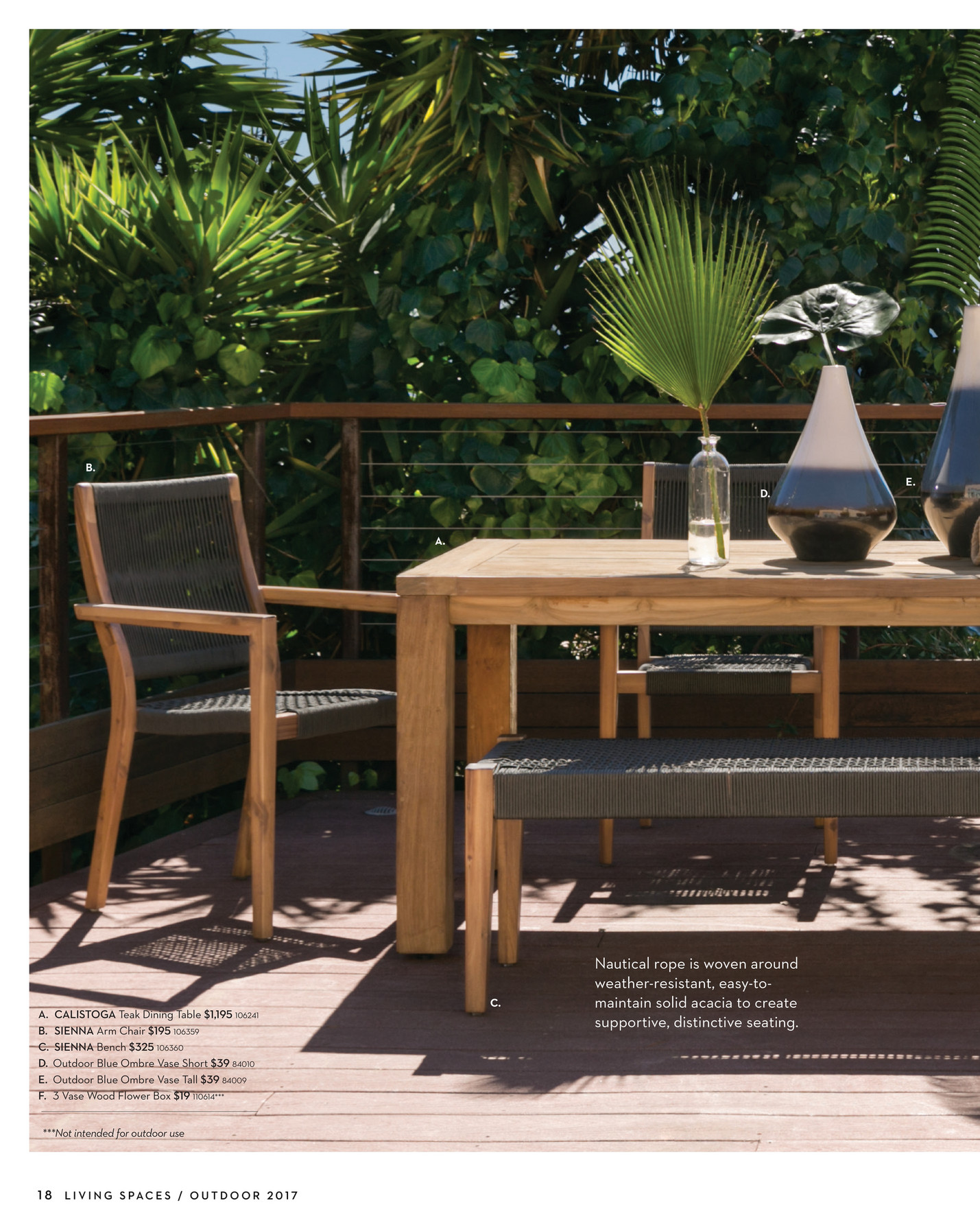 Our Calistoga Dining Table Will Endure Alfresco For Years, And We Have  Recycled Teak To Thank. Regarded As The Gold Standard For Outdoor Furniture,  ...