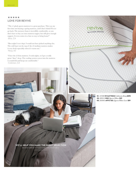 REVIVE ««««« LOVE FOR REVIVE U201cThe R1 Plush Queen Mattress Is ...