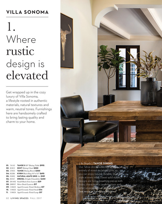 VILLA SONOMA 1. Where Rustic Design Is Elevated Get Wrapped Up In The Cozy  Luxury ...