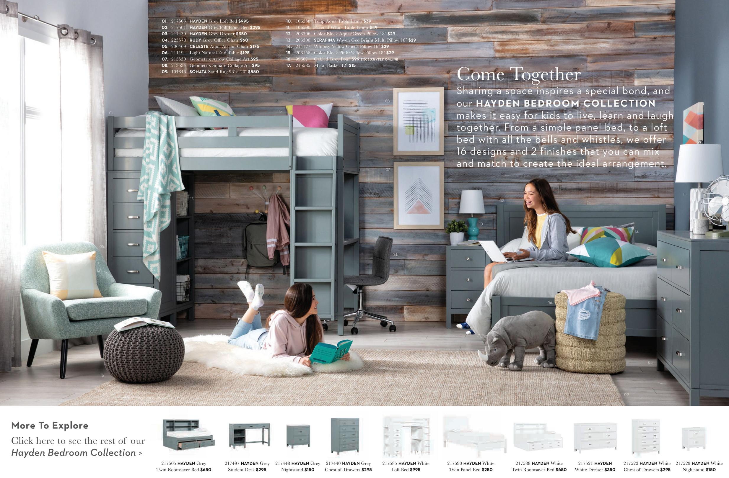 Marvelous Living Spaces Kids Teens 2018 Celeste Light Grey Theyellowbook Wood Chair Design Ideas Theyellowbookinfo
