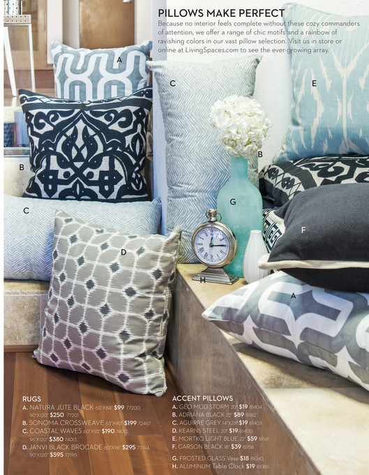 Living Spaces - Product Catalog - August 2014 - 60X93 Rug-Coastal Waves